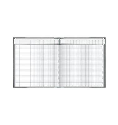 Spaltenbuch 86-11702 27,7x29,7cm 96 Blatt mit Kopfleiste 20 Spalten über 2 Seiten