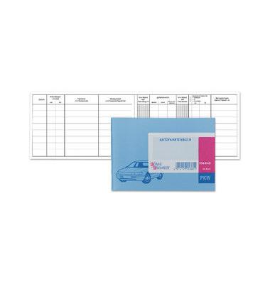 Fahrtenbuch PKW 148x105mm 40 Blatt