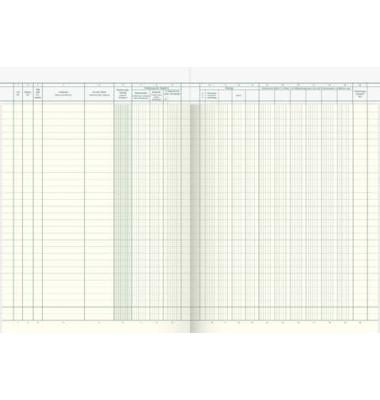 Waren- und Rechnungseingangsbuch 86-10661 A4 40 Blatt 80 Seiten