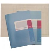 Spaltenbuch 4 Spalten blau A4 40 Bl