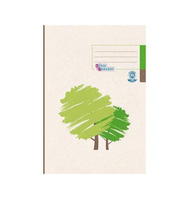 Geschäftsbuch 86-14292 A4 kariert 96 Blatt 192 Seiten