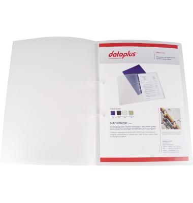 Schnellhefter Polyboard 0,5mm transp. 230x315mm A4 hoch