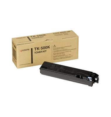 Toner TK-500K schwarz ca 8000 Seiten