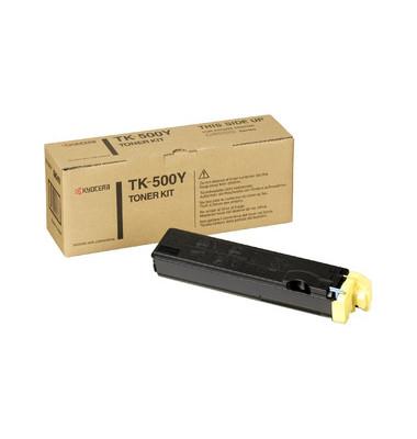 Toner TK-500Y gelb ca 8000 Seiten