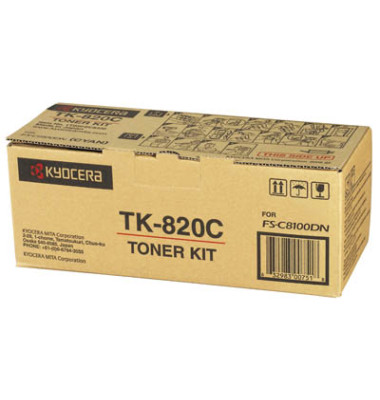 Toner TK-820C cyan ca 7000 Seiten
