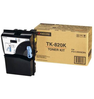 Toner TK-820K schwarz ca 15000 Seiten