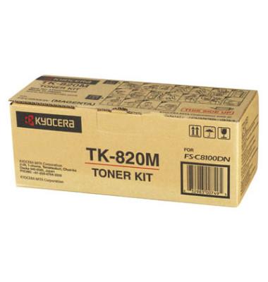 Toner TK-820M magenta ca 7000 Seiten