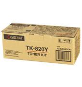 Toner TK-820Y gelb ca 7000 Seiten