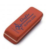 Radierer f. Blei-/Farbstifte rot 55x19x8,5mm Kautsch.