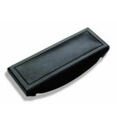 Wiegelöscher Monza schwarz 16,5x7x2,5cm Ri-Leder
