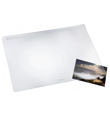 Schreibunterlage Matton glask. transp. 40x60 cm Kunst.