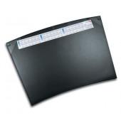 Schreibunterlage Durella Trapez Soft 41592 mit Kalenderstreifen schwarz 70x50cm Kunststoff