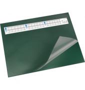 Schreibunterlage mit Sichtfolie grün 52 x 65cm Kunststoff