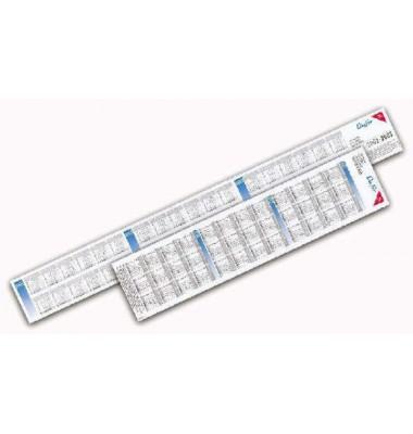 Kalenderstreifen für Schreibunterlage 4501 3 Jahre 39x9cm ab 2021