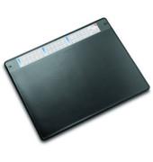 Schreibunterlage Durella mit Sichtfolie schwarz 50 x 65cm Kunststoff