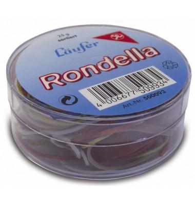 Gummiringe Rondella Ø 65mm rot 25g