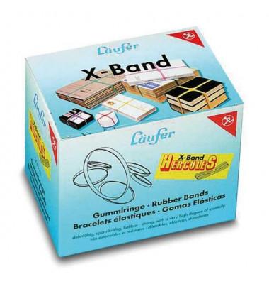 Gummibaender X-Band 500g. sortiert 250 x 25mm