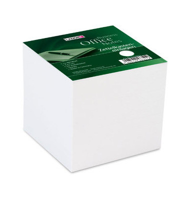 Notizzettel-Nachfü.f.Zettelbox weiß 9x9cm 800 Bl