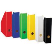 Stehsammler Color 70 x 225 x 300mm A4 schmal Hartpappe gelb