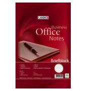 Schreibblock Office A4 kariert weiß 2 fach gelocht 50 Blatt