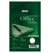 Briefblock Office A5 blanko weiß 50 Blatt