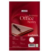 Briefblock Office A5 kariert weiß 50 Blatt