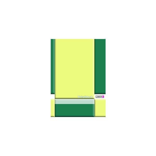 gelocht 50 Blatt DIN A4 liniert Schulblock