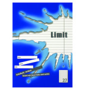 Schulheft Limit A4 Lineatur 27 liniert mit Doppelrand weiß 16 Blatt