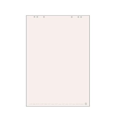 Flipchartblock blanko weiß 68 x 99cm 20 Blatt