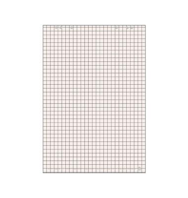 Flipchartblock 25mm-kariert weiß 68 x 99cm 20 Blatt