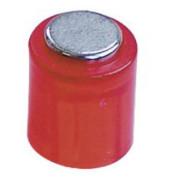 Haftmagnete rund Super Power Magnet Zylinder rot 14x9mm 6 St