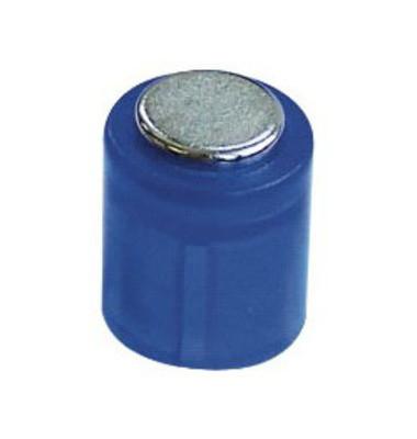 Haftmagnete rund Super Power Magnet Zylinder blau 14x9mm 6 St