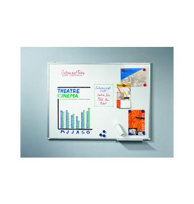 Whiteboard Premium Plus 200 x 120cm emailliert Aluminiumrahmen
