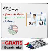 Whiteboard Premium 120 x 90cm weiß 102054