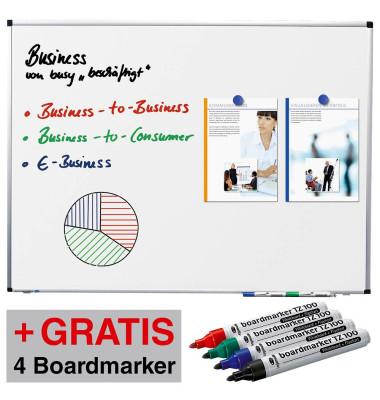 Whiteboard Premium 150 x 120cm weiß 102073