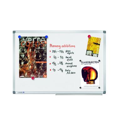 Whiteboard Universal 150 x 100cm lackiert Aluminiumrahmen