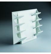 Markerhalter für 4 Boardmarker weiß magnetisch