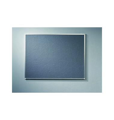 Pinnwand PREMIUM 7-141643, 90x60cm, Textil, Aluminiumrahmen, grau