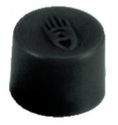 Magnete 10mm bis 150g rund schwarz 10 Stück