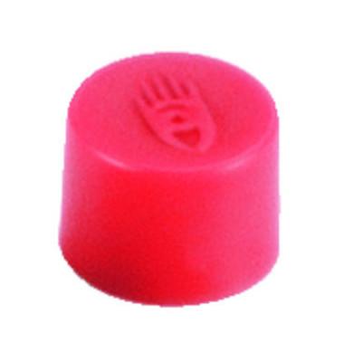 Magnete 10mm bis 150g rund rot 10 Stück