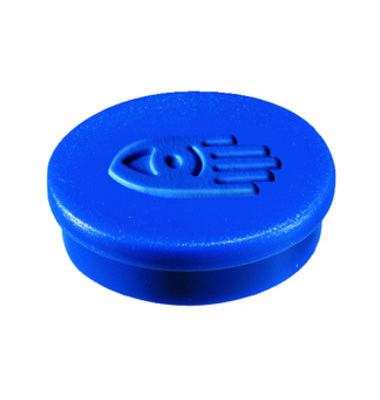 Magnete 20mm bis 250g rund blau 10 Stück