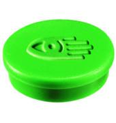 Magnete 20mm bis 250g rund grün 10 Stück