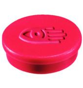 Magnete 20mm bis 250g rund rot 10 Stück