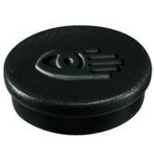 Magnete 30mm bis 850g rund schwarz 10 Stück