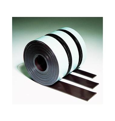 Magnetband 25mm x 3m x 1,5mm braun selbstklebend