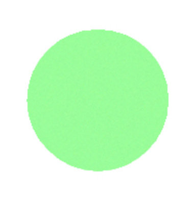 Moderationskarten Kreise Ø 14cm grün 250 Stück