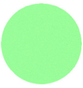 Moderationskarten Kreise Ø 19cm grün 250 Stück