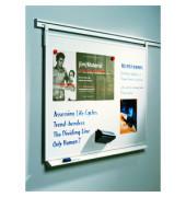 Whiteboard Legaline Professional 180 x 90cm emailliert Aluminiumrahmen