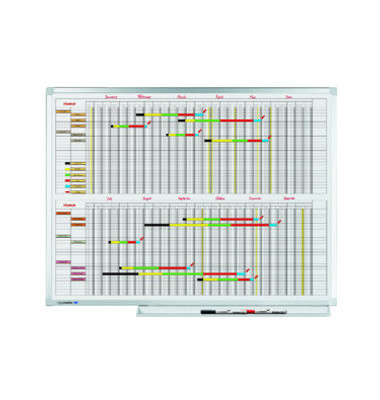 Jahresplaner Professional 7 Tage-Woche 90 x 120cm