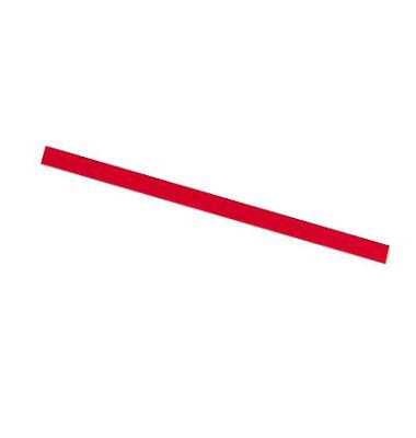 Magnetstreifen 300 x 5mm bis 50g rot 12 Stück